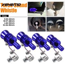 Vehemo Sound Whistle Turbo Whistle Pipe Whistle Blue Aluminum Alloy Durable Blowoff Exhaust Muffler Best Gifts Automobile