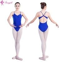Royal Blue Camisole Ballet Leotards For Girls Leotard For Dance Dance Wear Ballet Clothes For Sale