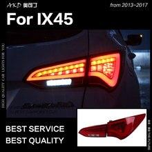 АКД Автомобиль Стайлинг для Hyundai IX45 задние фонари 2013-Новинка 2017 года Santa Fe светодиодный задний фонарь светодиодный DRL стоп-сигнал обратный Авто Интимные аксессуары