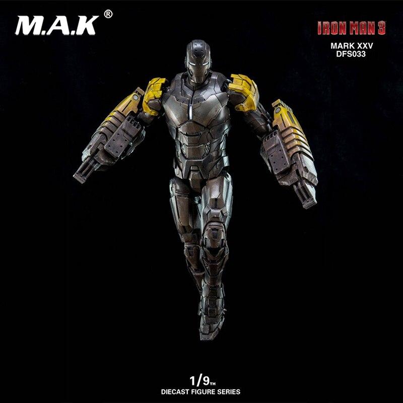 1/9 Iron Man Mark25 Striker Diecast Pose-able Action Figure1/9 Iron Man Mark25 Striker Diecast Pose-able Action Figure