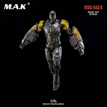 1/9 Iron Man Mark25 Striker Diecast Pose-able Action Figure