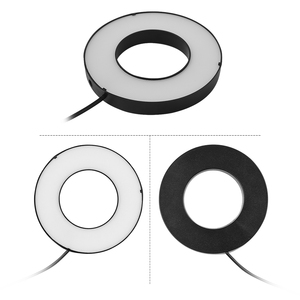 Image 5 - Photography LED Selfie Ring Light 12CM Dimmable Camera Phone Ringlight With Table Tripods For Makeup Video Live Studio Maquillaj