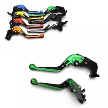short long brake clutch levers for aprilia tuono 1000 v4 r tuono v4 1100 rr factory 2011 2016 motorcycle adjustable cnc for APRILIA RSV MILLE/R FALCO/SL1000 CNC Motorcycle Accessories Adjustable Brake Clutch Levers Foldable Extending with logo