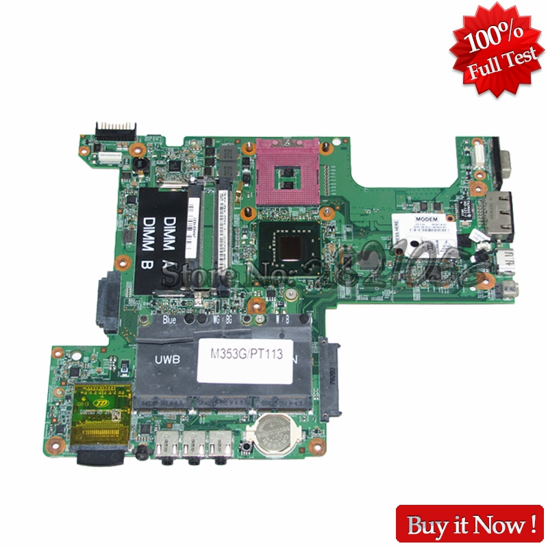 NOKOTION 48.4W002.031 Laptop Motherboard For Dell inspiron 1525 CN-0PT113 0PT113 PT113 Main board GM965 DDR2 Free CPU dell inspiron 3558