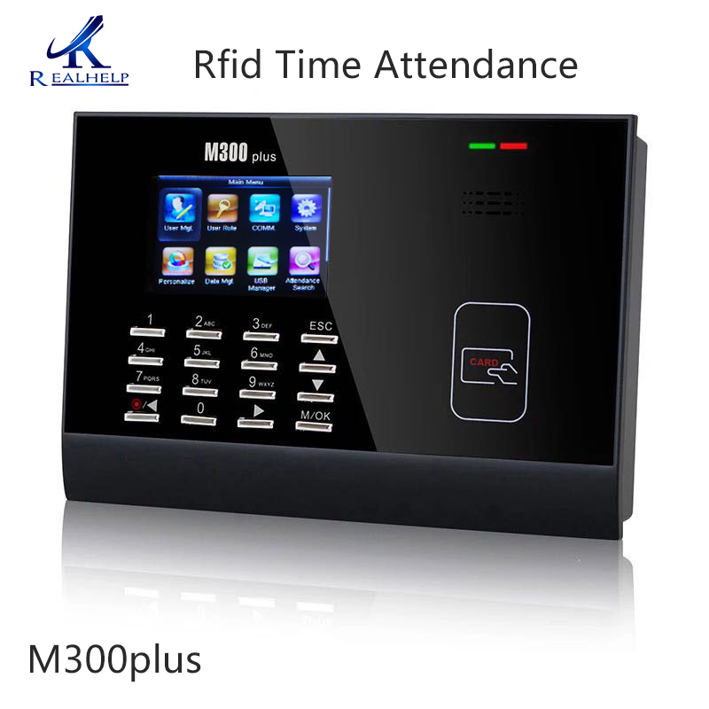 30,000Users ZKsoftware Standalone Attendance ZKTeco M300plus Rfid Card Time Attendance Electric Attendance Machine