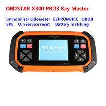 OBDSTAR X300 PRO3 Key Master Full Package for  Immobiliser + Odometer +EEPROM/PIC+OBDII+EPB+Oil/Service reset+Battery matching