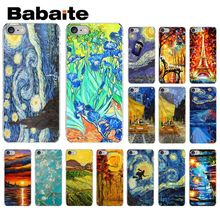 Babaite Van Gogh Tardis TPU Soft Silicone Phone Case Cover for Apple iPhone 8 7 6 6S Plus X XS MAX 5 5S SE XR Mobile Cover babaite van gogh tardis tpu soft silicone phone case cover for apple iphone 8 7 6 6s plus x xs max 5 5s se xr mobile cover