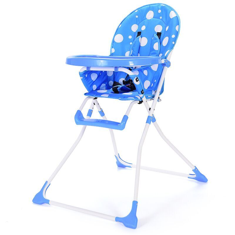 ФОТО Baby Dining High Chair Portable Simple Fold Baby Booster Seat
