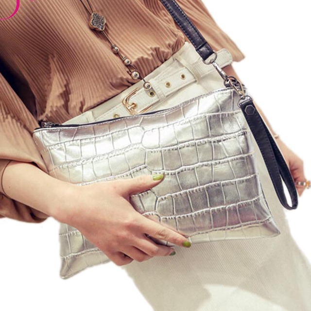 Women Clutch Bag Ladies Handbag Evening Clutches Bag Alligator Leather Handbag Brand Crossbody Bag for Women Shoulder Bag
