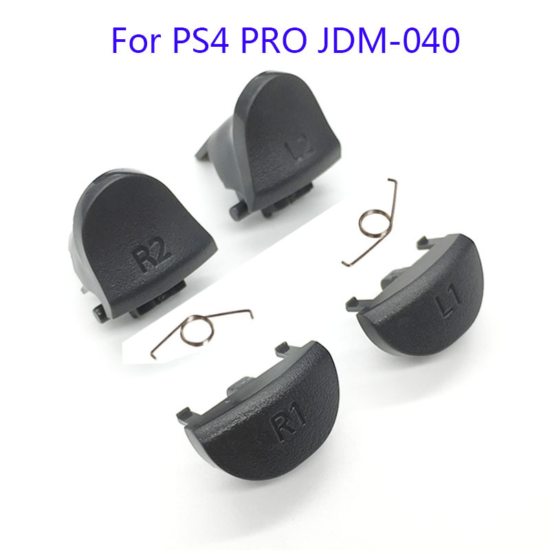 For Playstations 4 JDS 040 JDM 040 Controller Trigger Spring L1 R1 L2 R2 Parts Buttons For PS4 Triggers Buttons