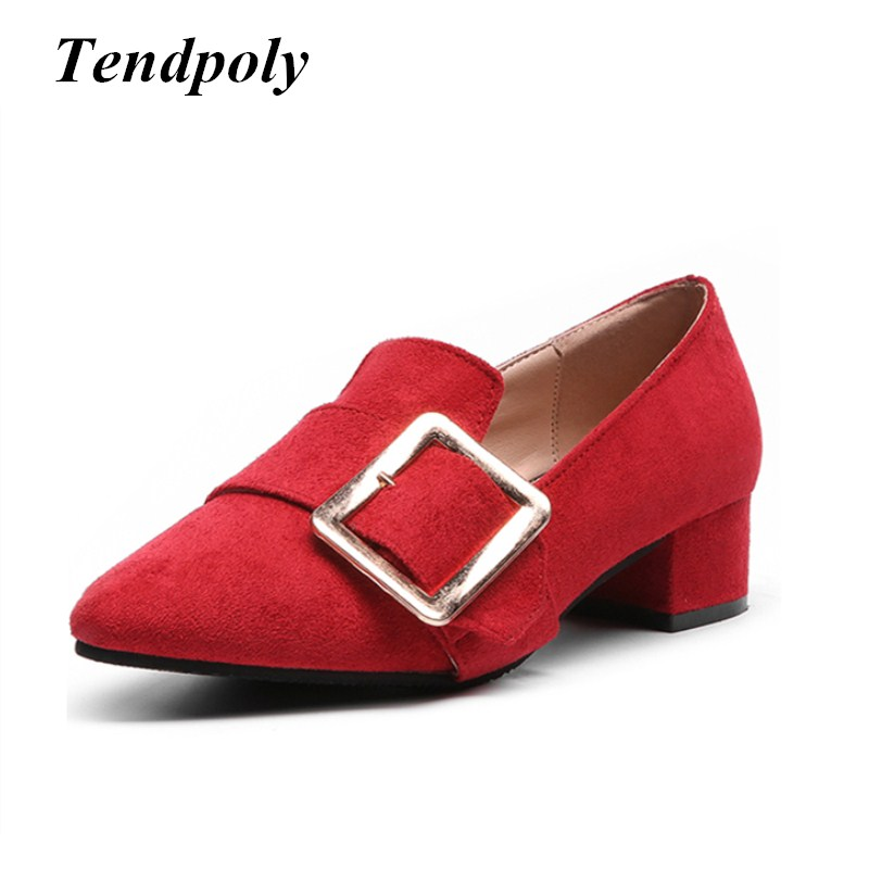 2018 new retro fashion high heels spring and summer suede European and American style shoes selling casual women's singles shoes 2016 spring new european and american fashion shoes thick with fish head shoes nightclub new ultra high heels sandals b454
