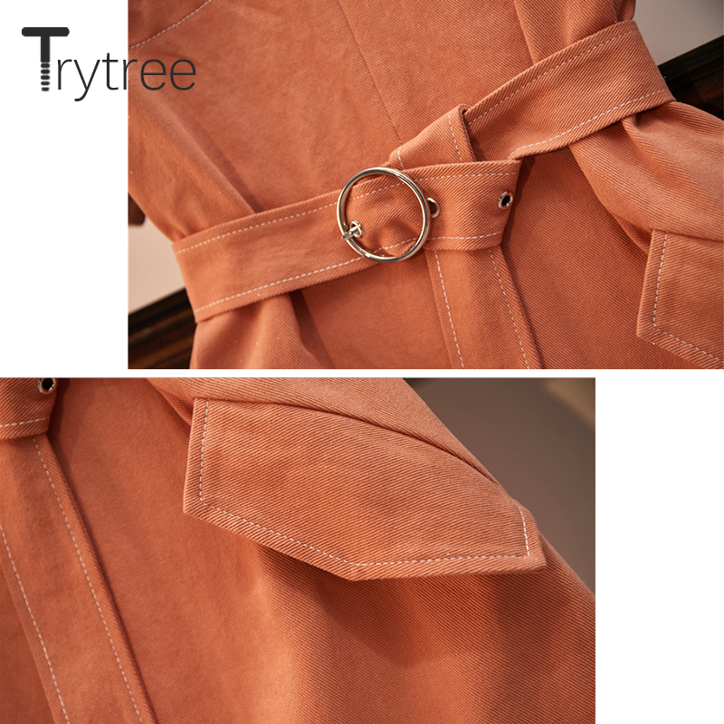 Trytree Summer Women Casual Dress O Neck Shining Mesh Patchwork T Shirt Dresses Pockets Belt Above Knee Office Lady Loose Dress in Dresses from Women 39 s Clothing