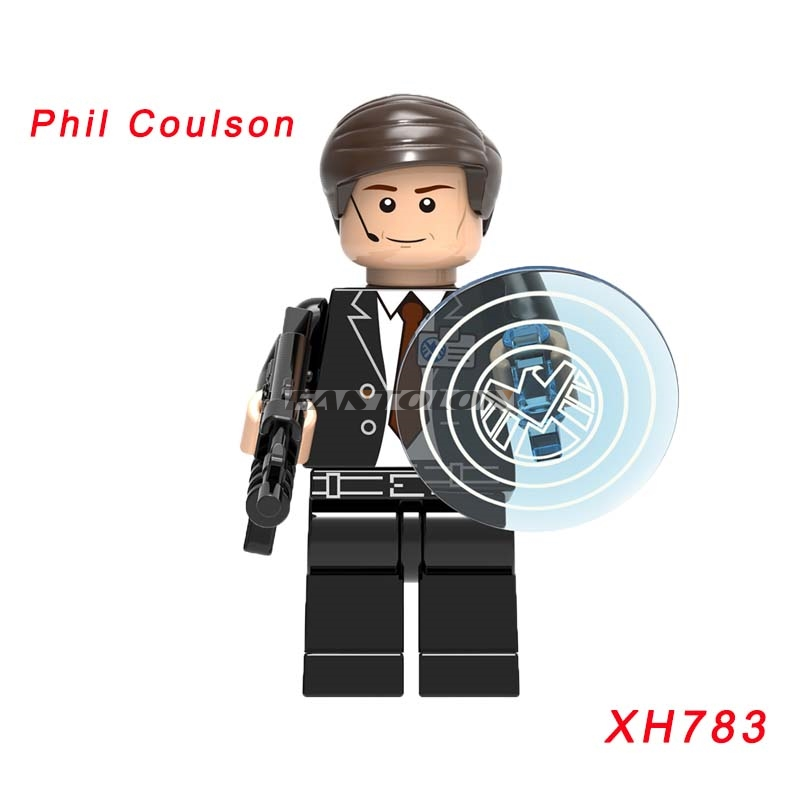 Xh783 Phil Coulson Action Figure Single Sale Dc Super Heroes 76077 Iron Man: Detroit Steel Strikes Star Wars Building Block Toys