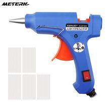 XL-E20 20 Вт Профессиональный клеевой пистолет для клея горячий термоклей клей пистолет stick оправдают ремонт электроинструмент инструмент строительный фен