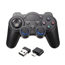 Game Joystick Joypad 2.4Ghz Wireless Receiver Android TV Gamepad Controller for PS3 XINPUT 360 Boy Kids Gift with OTG adapter