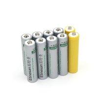 8 pcs Etinesan 200 mAh 10440 lifepo4 3.2 v AA Batterie Ricaricabili con dummy battery packs