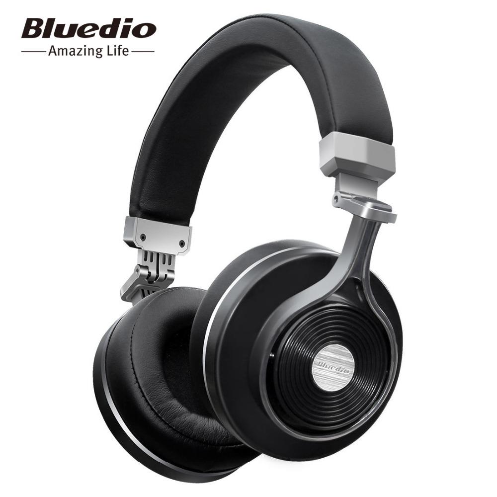 Prix pour Bluedio t3 sans fil bluetooth casque/casque avec microphone pour la musique sans fil écouteurs