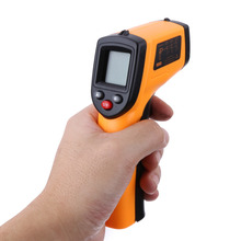 Non Contact Infrared Thermometer Digital IR Laser Thermometer LCD Display Temperature Measurement 50 330 Celsius