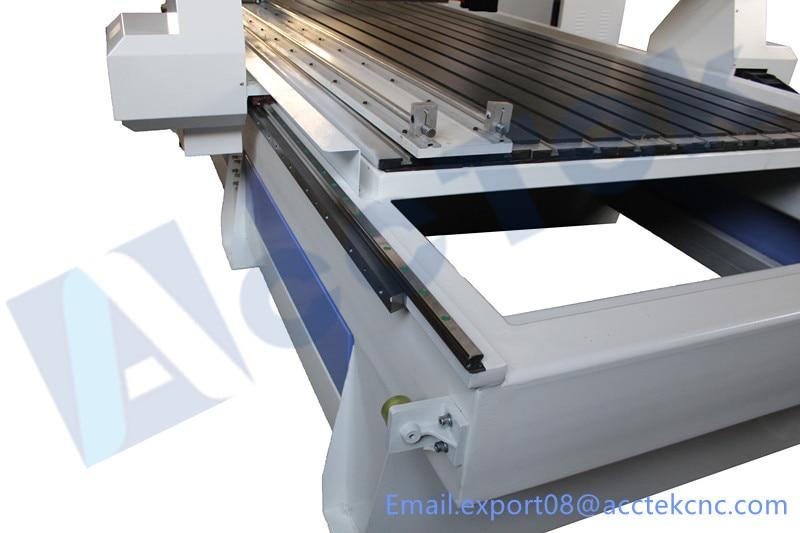 3d CNC machine à bois AKM1325 avec MACH3/MACH4 contrôleur tour bois machine - 6