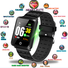 BANGWEI Sport Watch Waterproof Blood Pressure Heart Rate Monitor Calorie Pedometer Information Reminder Fitness Smart Bracelet все цены