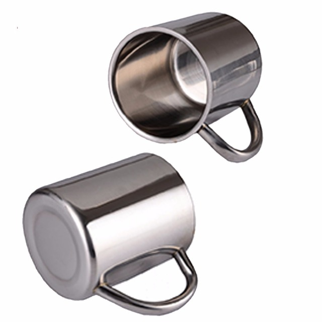 Double Wall Stainless Steel Coffee Mug 3