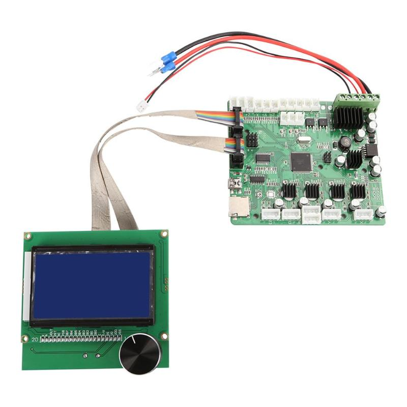 3D Printer Mainboard Control Board With LCD Screen Mainboard Control Panel for Creality CR-10S 3D Printer Parts цена