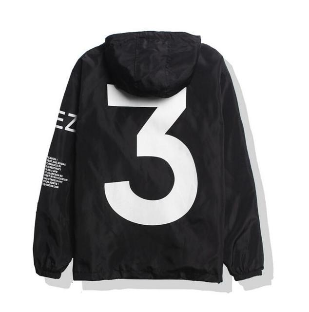 Jesus is king Kanye West Y3 Season 3 Windbreaker Jacket  2