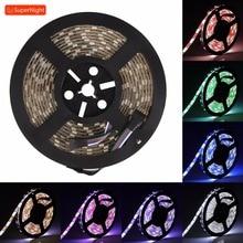 RGBW LED Strip Fairy Light 5050 SMD 5M 60LEDs/m DC 12V Waterproof Flexible Lamp Band Light Strip for Home Decoration Lighting