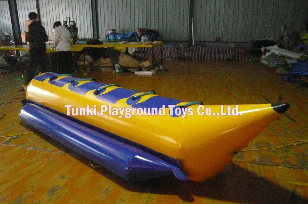 5 seats commercial banana surfing boat