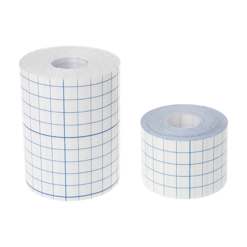 Emergency Kits Tape Bandage Hypoallergenic Nonwoven Adhesive Wound Dressing Medical Fixation Tape Bandage