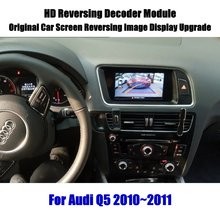 Q5 Liandlee Para Audi 2010 ~ 2011 Decodificador HD Caixa Jogador de Exibição de Atualização de Tela de Imagem Da Câmera Do Carro de Estacionamento Traseiro Reverso atualização