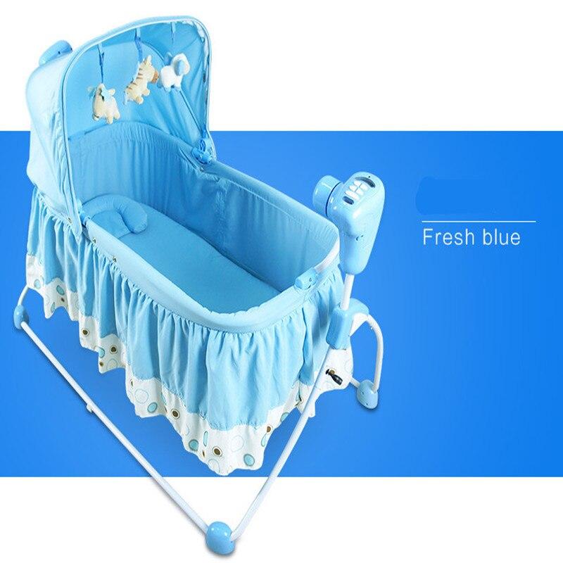 2016 реальные детские кроватки для младенцы близнецы дети спальные мешки подушки детские кровати кресло качалка супер дизайн с музыкой джемп