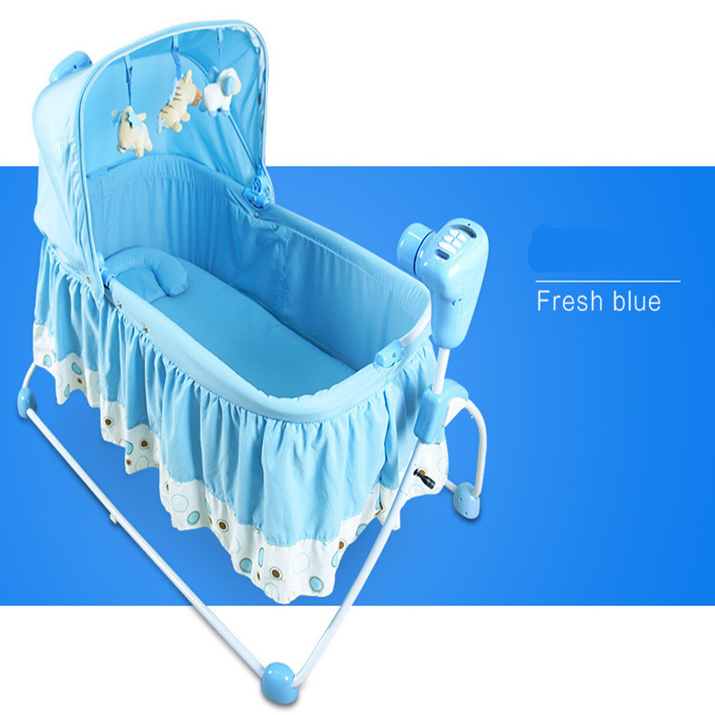 2016 Real Cribs For Twins Babies Kids Sleeping Bags Pillow Baby Beds Baby Rocking Chair Super Design With Music Jumpers Swings цены