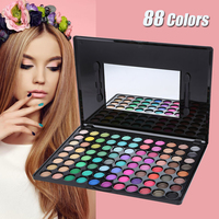 88 Color Nature Eyeshadow Palette Makeup Set Professional Eye Shadow Box Cosmetic Eyeshadow Makeup Palette Facial