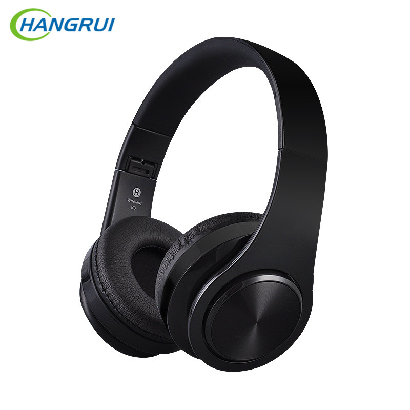 HANGRUI Bluetooth Headphone Wireless stereo headset portable audio music bluetooth Earphone for mobile phone PC support TF card original xiaomi mi bluetooth speaker wireless stereo mini portable mp3 player pocket audio support handsfree tf card