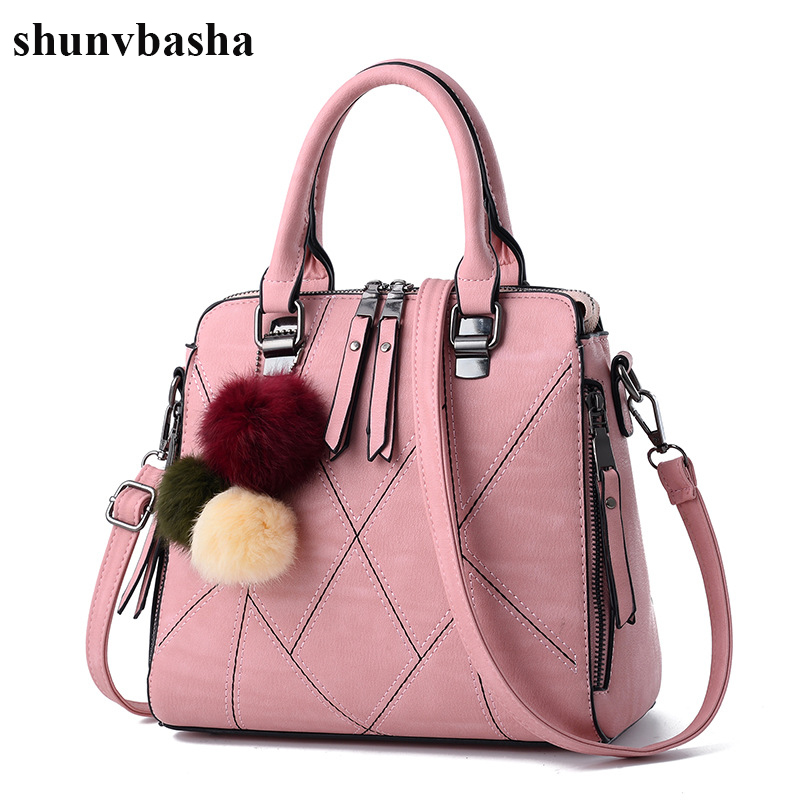 Luxury Brand Leather Women Handbags Shoulder Crossbody Bag Ladies Fashion Soft Women Messenger Bags High Quality Tote Bag Female bailar fashion women shoulder handbags messenger bags button rivets totes high quality pu leather crossbody famous brand bag