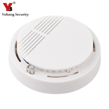 YobangSecurity Standalone Photoelectric Smoke Alarm Fire Smoke Detector Sensor Home Security System for Home Kitchen