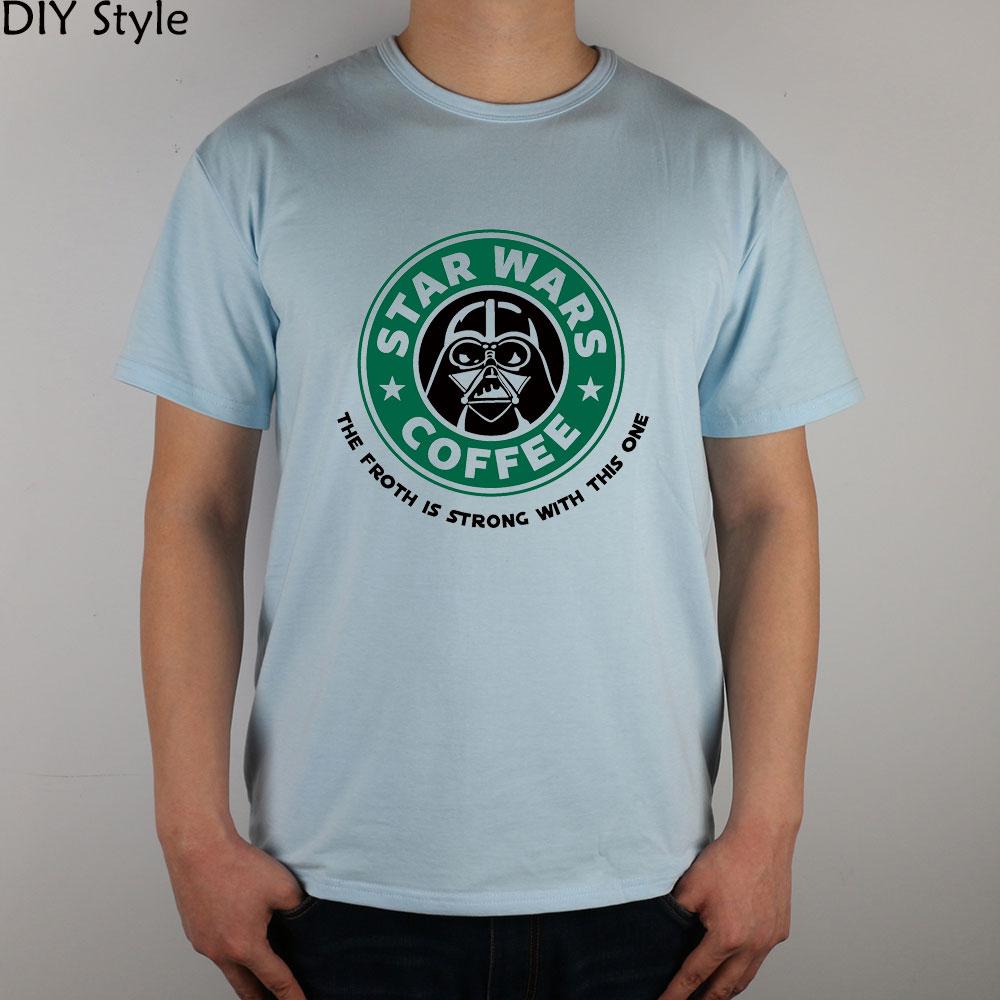 STAR WARS COFFEE la fuerza es fuerte con esta camiseta de manga corta - Ropa de hombre - foto 2