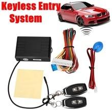 12 В Авто Сигнализации и Центрального Замка Замки Замок Безопасности Keyless Entry Kit с Дистанционным Управлением