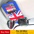 Автомобильный держатель для солнцезащитных очков  посылка для карт Mini Cooper JCW One + S F54 F55 F56 F60 R55 R56 R60 R61