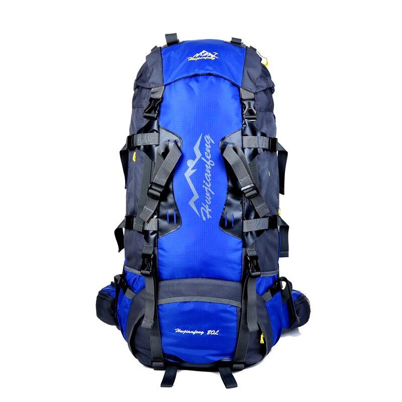 Новая мода 80L Водонепроницаемый рюкзак дождевик большой Ёмкость сумка Для мужчин рюкзаки туристические рюкзаки