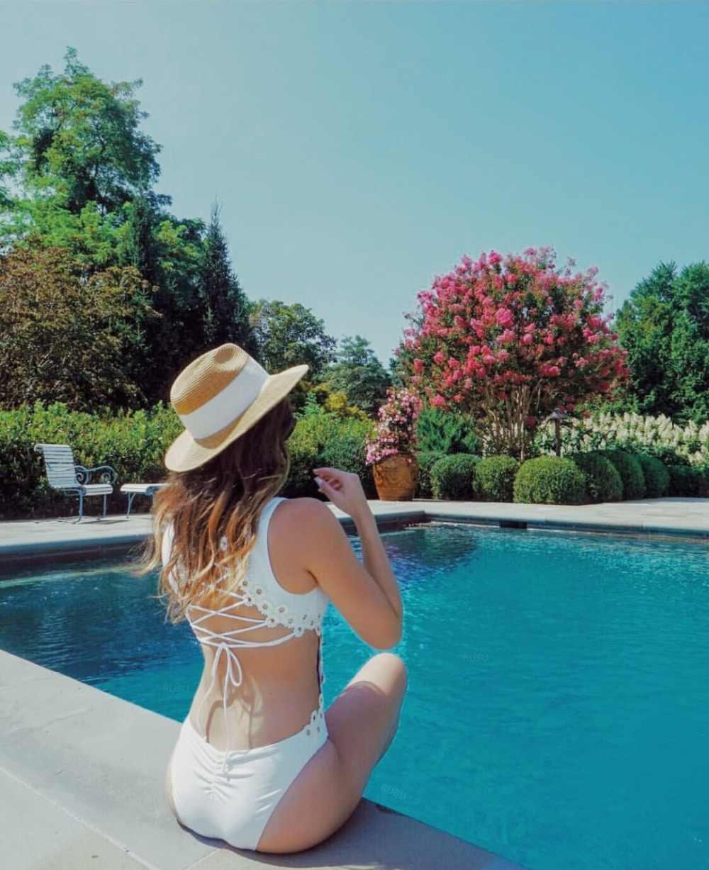 2019 sexy lato kobiety biały lace up body hurtownie dropshipping