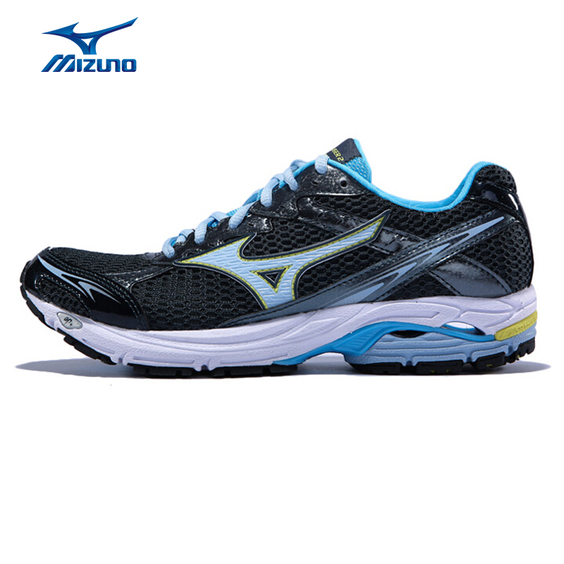 MIZUNO Sport Sneakers Women's Athletic Shoes WAVE LASER 2 (W) DMX AP+ Midsole Cushioning Mesh Running Shoes J1GR-J1GL3 XYP230 mizuno wave paradox 2 mizuno mznj1gc1540