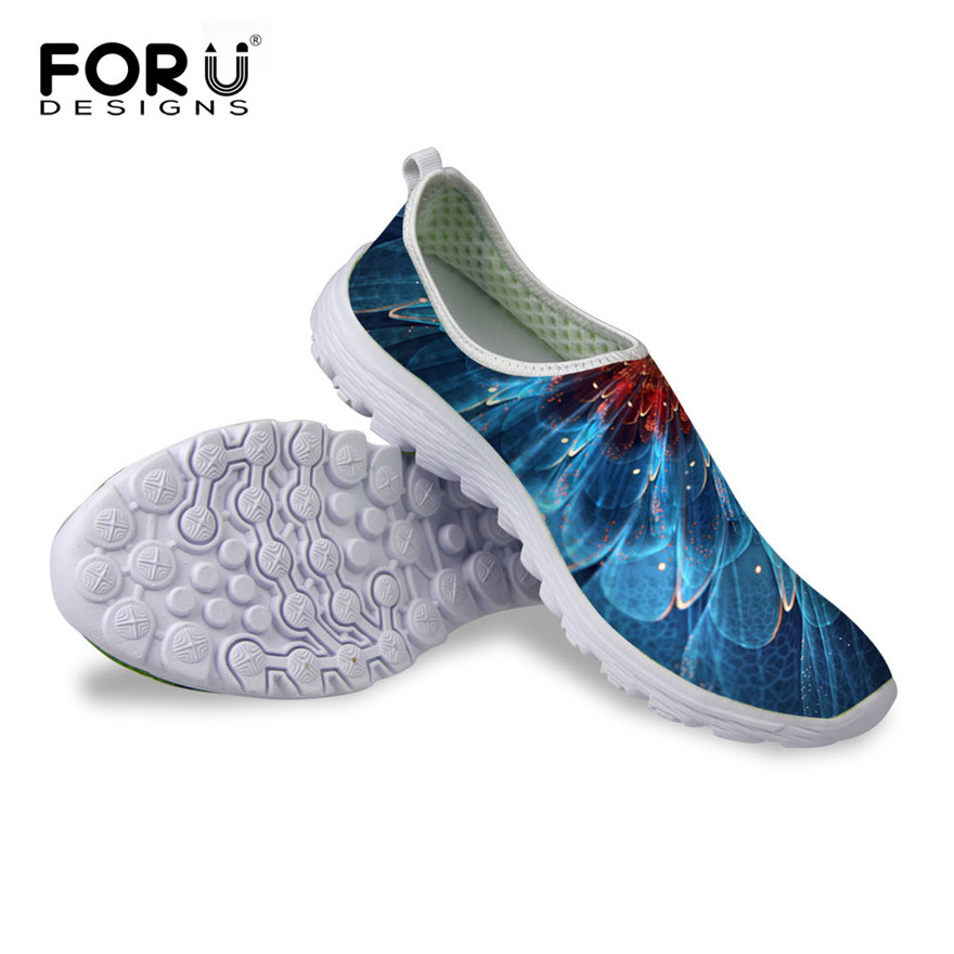 FORUDESIGNS 2018 Fashion Summer Beach Mesh Shoes Women's Flats,Breathable Barefoot Zapatillas Shoes,Women Comfort Casual Shoes new summer zapato women breathable mesh zapatillas shoes for women network soft casual shoes wild flats casual