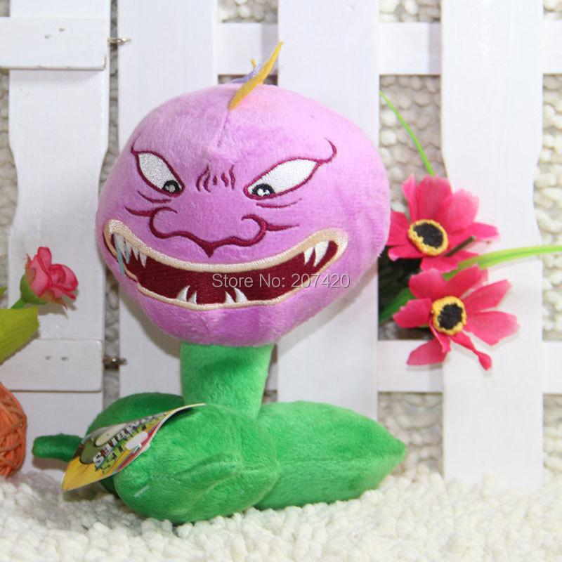 6.7 дюйма Растения против Зомби серии завод закрытым Мышь Chomper плюшевые игрушки куклы ...