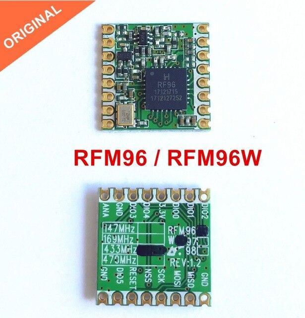 משלוח חינם על ידי DHL! 100 PCS RFM96 RFM96W 433 MHZ LoRaTM אלחוטי משדר RFM96W 433S2