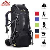 50L Outdoor Tactical Backpack Waterproof Trekking Travel Rucksack Camping Mountaineering Backpack Sport Outdoor Bicycle Bag Tas