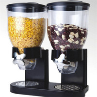 Kitchen tools Kitchen food candy rice seal pot grain storage jar with cover large pot cereal Plastic jars Dry Food Dispenser