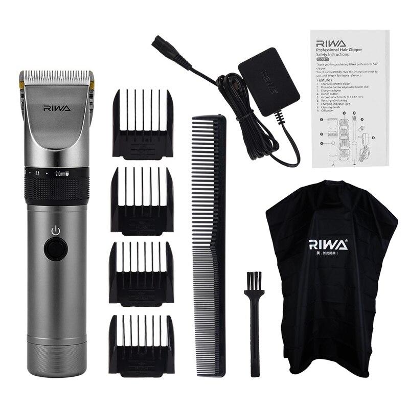 100V-240 tondeuse à cheveux à faible bruit lame en céramique tondeuse à barbe rasoir professionnel électrique tondeuse à cheveux hommes Machine de coupe de cheveux