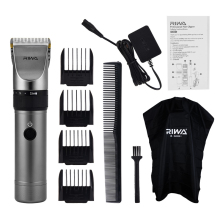 цены RIWA X9 Rechargeable Clipper Professional Hair Trimmer Men Haircut Hair Clipper Shaving Machine Razor Titanium Ceramic Blade